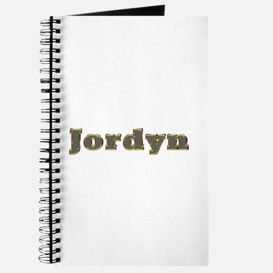 Jordyn Gold Diamond Bling Journal