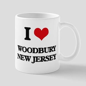 I love Woodbury New Jersey Mugs