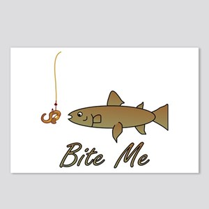 Bite Me Fish Postcards (Package of 8)