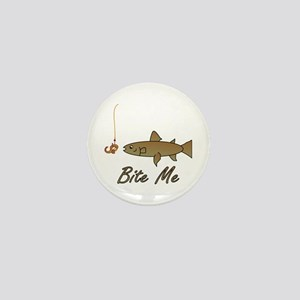 Bite Me Fish Mini Button