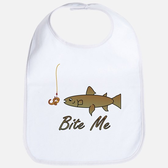 Bite Me Fish Bib