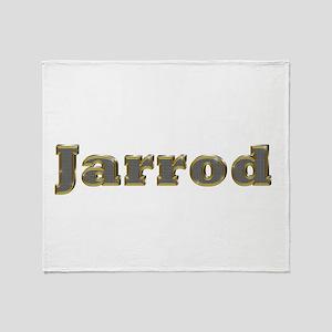 Jarrod Gold Diamond Bling Throw Blanket