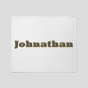 Johnathan Gold Diamond Bling Throw Blanket