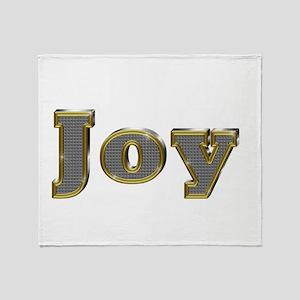 Joy Gold Diamond Bling Throw Blanket