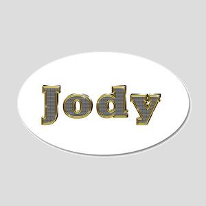 Jody Gold Diamond Bling 20x12 Oval Wall Decal