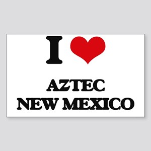 I love Aztec New Mexico Sticker