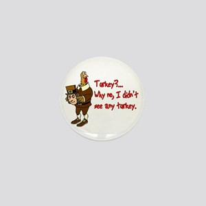 Turkey Disguise Mini Button