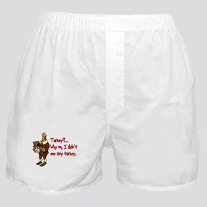 Turkey Disguise Boxer Shorts