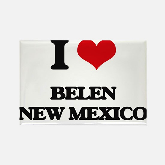 I love Belen New Mexico Magnets