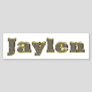 Jaylen Gold Diamond Bling Bumper Sticker