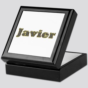 Javier Gold Diamond Bling Keepsake Box