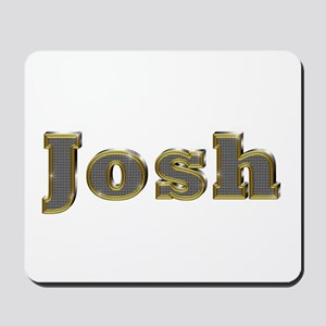 Josh Gold Diamond Bling Mousepad