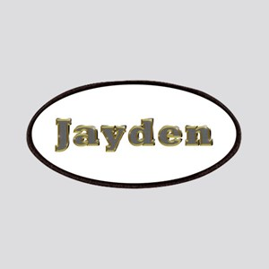 Jayden Gold Diamond Bling Patch