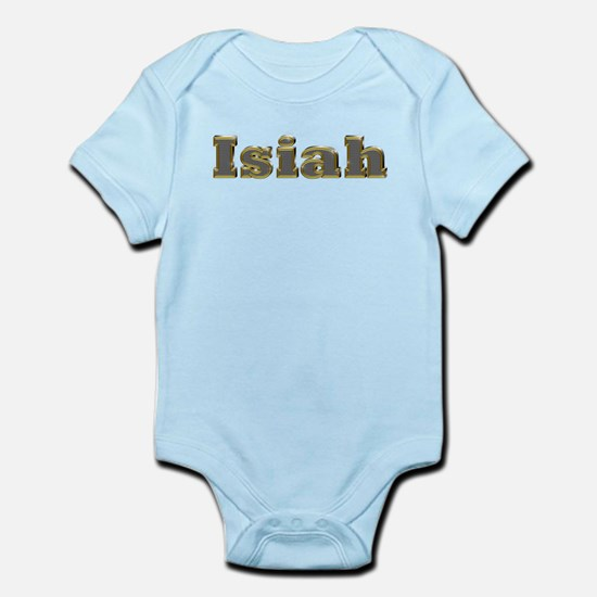 Isiah Gold Diamond Bling Body Suit