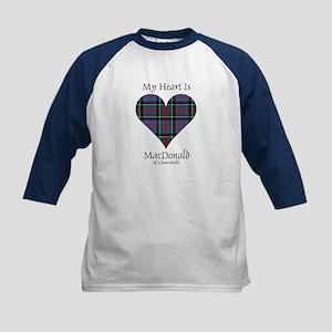 Heart-MacDonald of Clanranald Kids Baseball Jersey