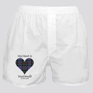 Heart-MacDonald of Clanranald Boxer Shorts