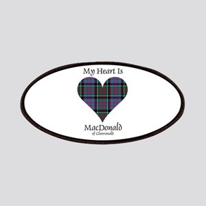 Heart-MacDonald of Clanranald Patch