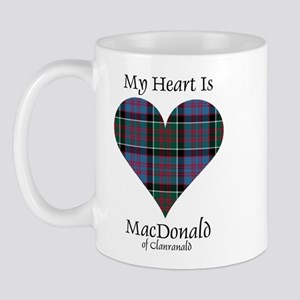 Heart-MacDonald of Clanranald Mug