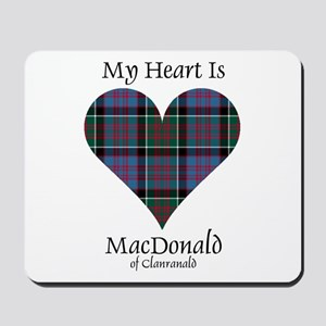 Heart-MacDonald of Clanranald Mousepad