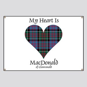 Heart-MacDonald of Clanranald Banner