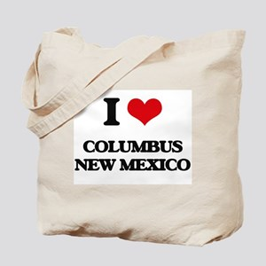 I love Columbus New Mexico Tote Bag