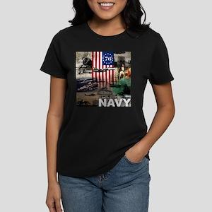 NAVY 1776 Women's Dark T-Shirt