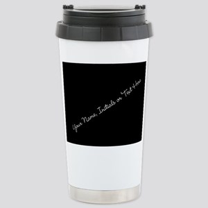 Your Name, Initials or Text Here Travel Mug