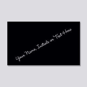 Your Name, Initials or Text Here Wall Decal