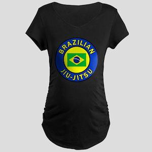 Brazilian Jiu-Jitsu Maternity Dark T-Shirt