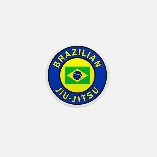 Brazilian Jiu-Jitsu Mini Button