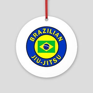 Brazilian Jiu-Jitsu Round Ornament