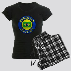 Brazilian Jiu-Jitsu Women's Dark Pajamas
