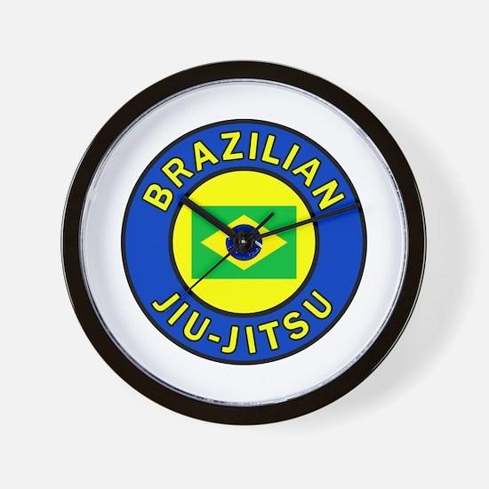 Brazilian Jiu-Jitsu Wall Clock