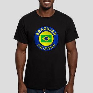 Brazilian Jiu-Jitsu Men's Fitted T-Shirt (dark)