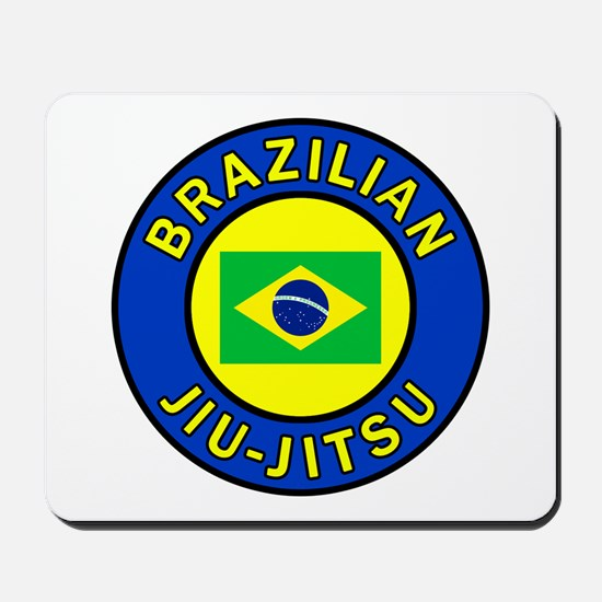 Brazilian Jiu-Jitsu Mousepad