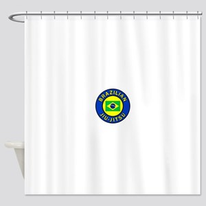 Brazilian Jiu-Jitsu Shower Curtain
