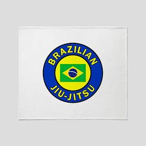 Brazilian Jiu-Jitsu Throw Blanket