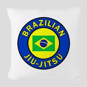 Brazilian Jiu-Jitsu Woven Throw Pillow