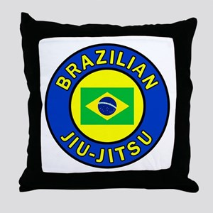 Brazilian Jiu-Jitsu Throw Pillow