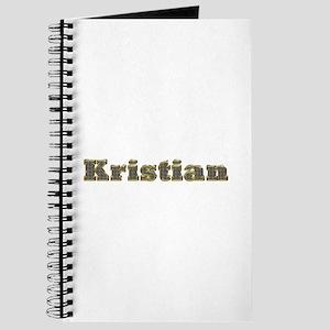 Kristian Gold Diamond Bling Journal