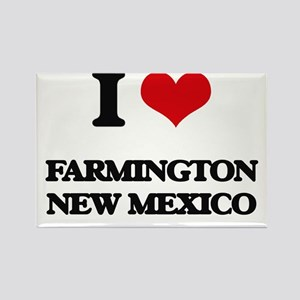 I love Farmington New Mexico Magnets