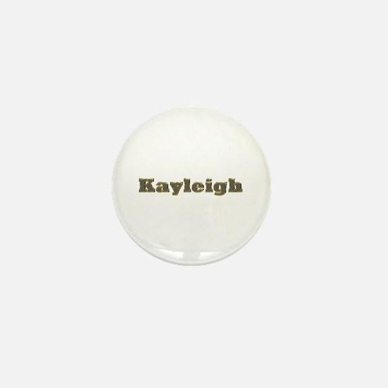 Kayleigh Gold Diamond Bling Mini Button