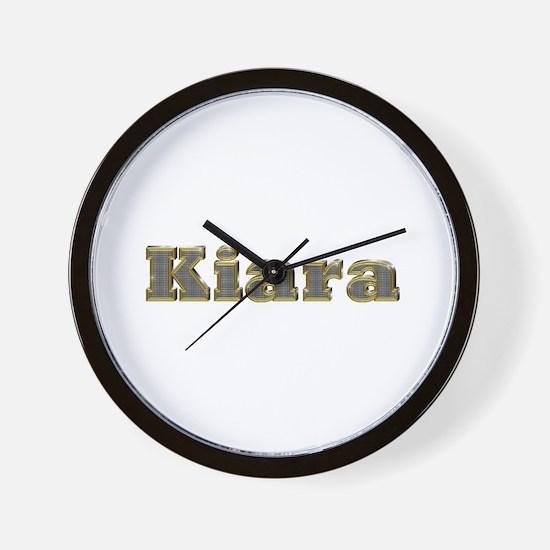 Kiara Gold Diamond Bling Wall Clock