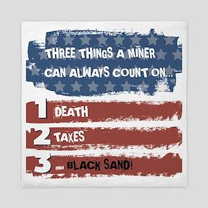 Black Sand Queen Duvet