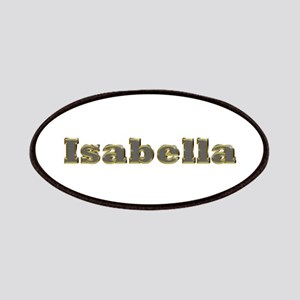 Isabella Gold Diamond Bling Patch
