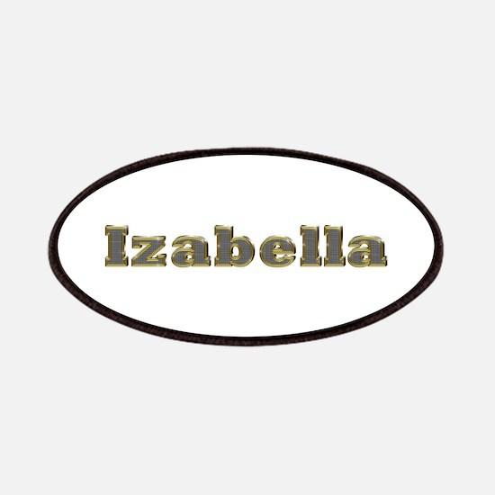 Izabella Gold Diamond Bling Patch