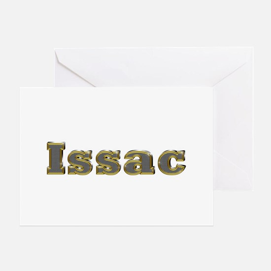 Issac Gold Diamond Bling Greeting Card