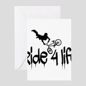 biker Greeting Cards