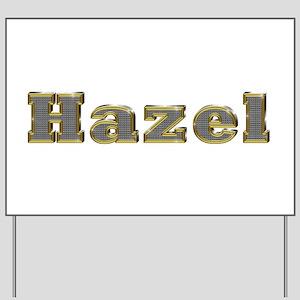 Hazel Gold Diamond Bling Yard Sign