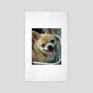 Chihuahua Dog Area Rug